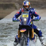 El portugués Faria sorprendió y es puntero en motos
