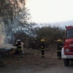 Incendio en La Banda de Arriba