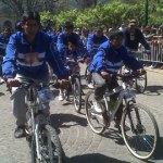 Parten este viernes los peregrinos en bicicleta