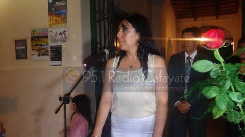 Juramento de la concejal Rita Guevara