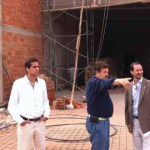 Inspeccionan la construcción de la bodega de Coviagro