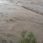 Rescataron a un hombre que era arrastrado por el Río Calchaquí