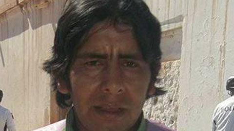 Abel Vargas, el infortunado albañil