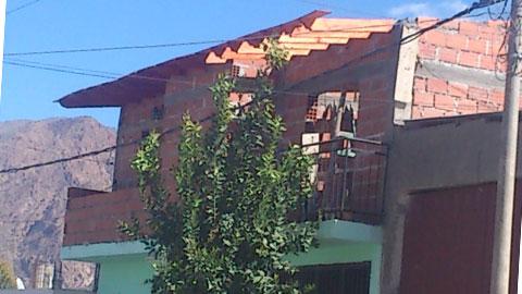 La vivienda de Catamarca 170 donde ocurrió el accidente