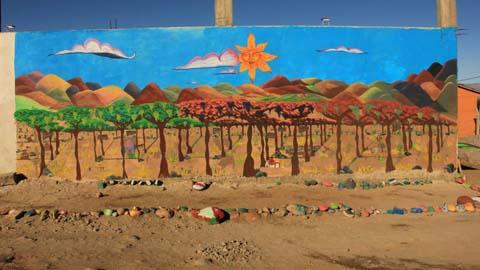 El Mural N° 12/ Foto facebook del Museo de la Vid y el Vino
