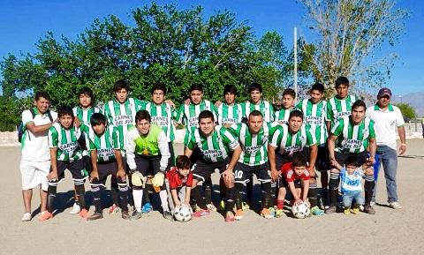 El equipo de Rivadavia que se impuso a San Isidro por 2 a 1