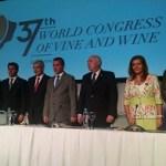 Se inauguró el 37º Congreso Mundial de la Viña y el Vino