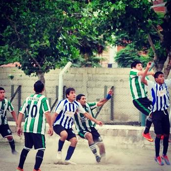 Rivadavia empató con Libertad pero se mantiene en la punta de la tabla. /Foto gentileza Club Rivadavia
