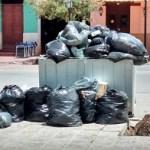 La medida de fuerza de municipales afectó seriamente la recolección de residuos