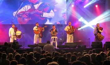 Los de Cafayate en el escenario de Dolores