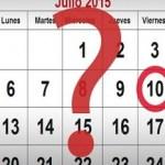 ¿El viernes 10 de julio, es o no feriado puente?