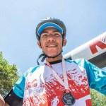 """Un cafayateño """"voló"""" en la Calchaquí Trail 2015"""