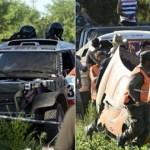 Grave accidente en el inicio del Dakar en Arrecifes