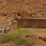 Un auto desbarrancó en la Quebrada