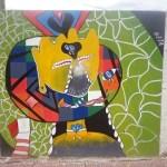 Treinta y cinco murales engalanan el predio de la Serenata a Cafayate