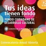 Un proyecto cafayateño seleccionado por el Fondo Ciudadano de Desarrollo Cultural 2016
