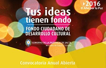0 fondo desarrollo cultural
