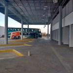 """Para la Municipalidad la terminal """"ya funciona"""" porque se estacionó un colectivo de turismo"""