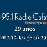 Radio Cafayate cumple 29 años