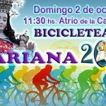 Se realiza este domingo la Bicicleteada Mariana