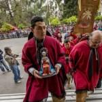 Emocionante llegada de los gauchos peregrinos de Cafayate a la Catedral de Salta