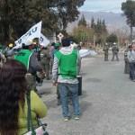 Municipales cortaron el acceso a Cafayate por falta de pago