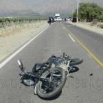 Murió un motociclista de Cafayate