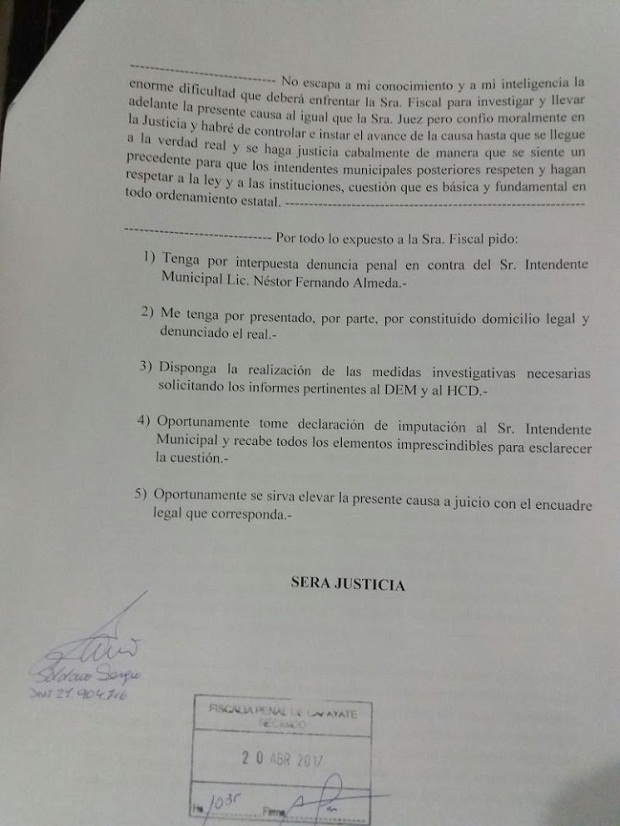 0 almeda denuncia pena 1l