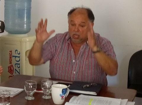 Ariel Barroso enfurecido con Juan Manuel Abdala