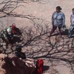 La Secretaría de Minería inspeccionó La Yesera este domingo