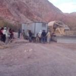 El gobierno paró las actividades de exploración minera en La Yesera