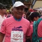 Cafayateño de 70 años corrió 21 kilómetros de la Calchaquí Trail