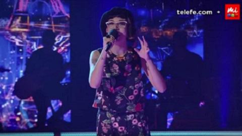 """Aymara Aybar cantó en francés y sigue en """"La Voz Argentina"""""""