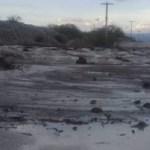 El San Antonio cortó nuevamente la Ruta 40, impresionantes imágenes de la creciente