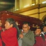 Enorme muestra de congoja y respeto en la llegada de los restos del Obispo Demetrio Jiménez