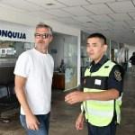 El ministro de Turismo y Deportes recorrió las zonas afectadas por el desborde del Río Chuscha