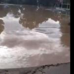 Video: El balneario municipal quedó convertido en un lodazal