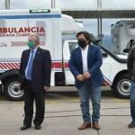 Sáenz entregó una nueva ambulancia para el hospital de Cafayate y de otras nueve localidades