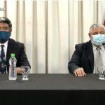 El Ministro de Salud está aislado y el secretario de Servicios de Salud, Sergio Humacata quedó internado por neumonía