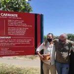 """Esparcieron las cenizas de """"Polo"""" Román en La Alameda de Cafayate"""