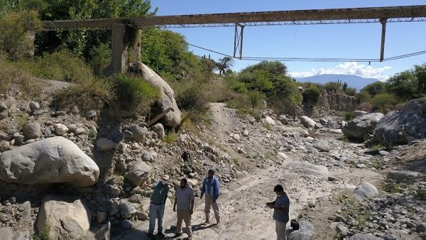 Cafayate: provisión de agua en riesgo