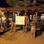 Vecinos de la Banda de Arriba reclaman por agua en la casa de Almeda