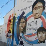 El movimiento Mujeres Trans Argentina inauguró este sábado un mural en Cafayate
