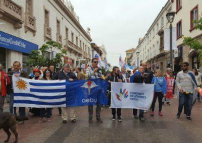 Redes sindicales en Chile, encuentro de jóvenes en Piriápolis y más en Camacuá y Reconquista