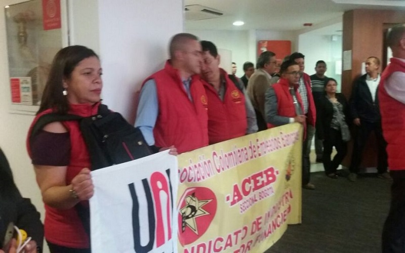 AEBU presente por la unidad en Colombia