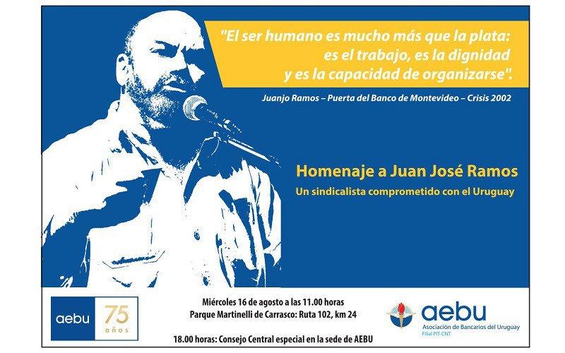 Juanjo Ramos en la memoria