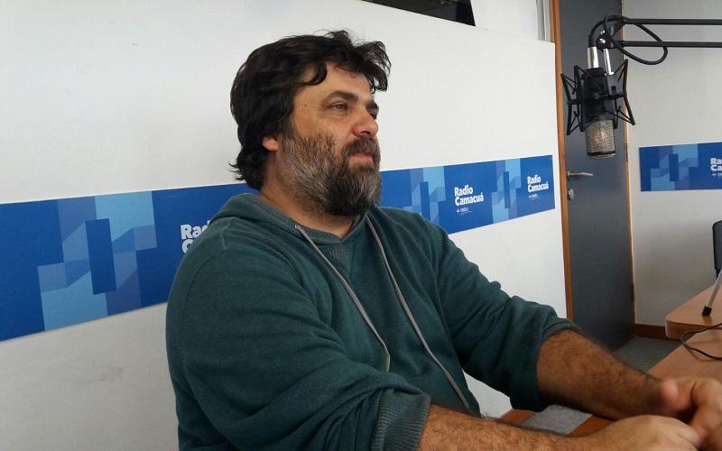 Con Gustavo Zidan, director de la Sala Verdi