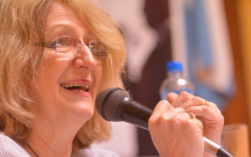 Graciela Frigerio en Montevideo