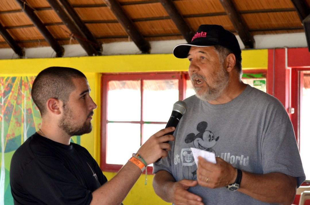 Federico Dobal entrevista a Enrique Piazza, responsable del Centro Vacacional de AEBU en Piriápolis y del Complejo Daymán Juanjo Ramos en Salto