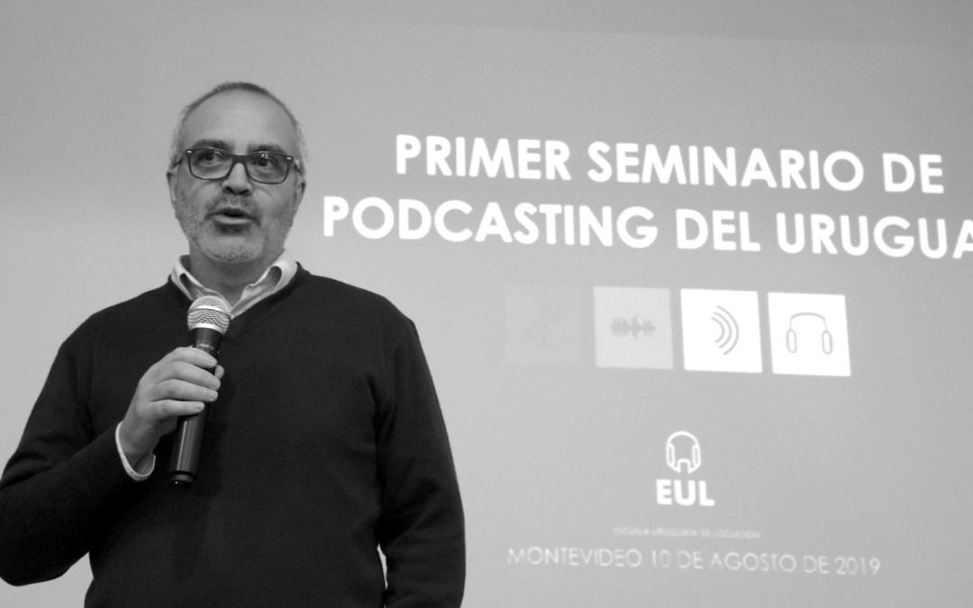 Primer seminario de podcasting del Uruguay